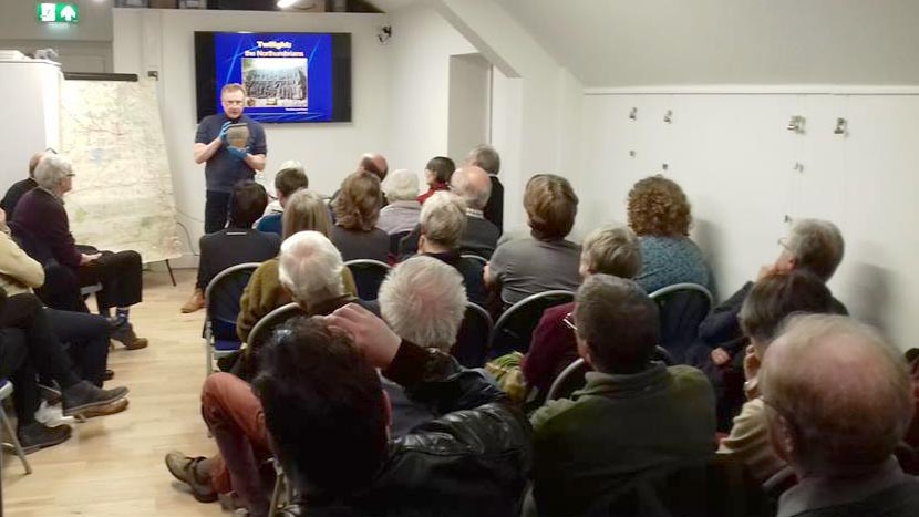 First Heritage Talk a sell-out success